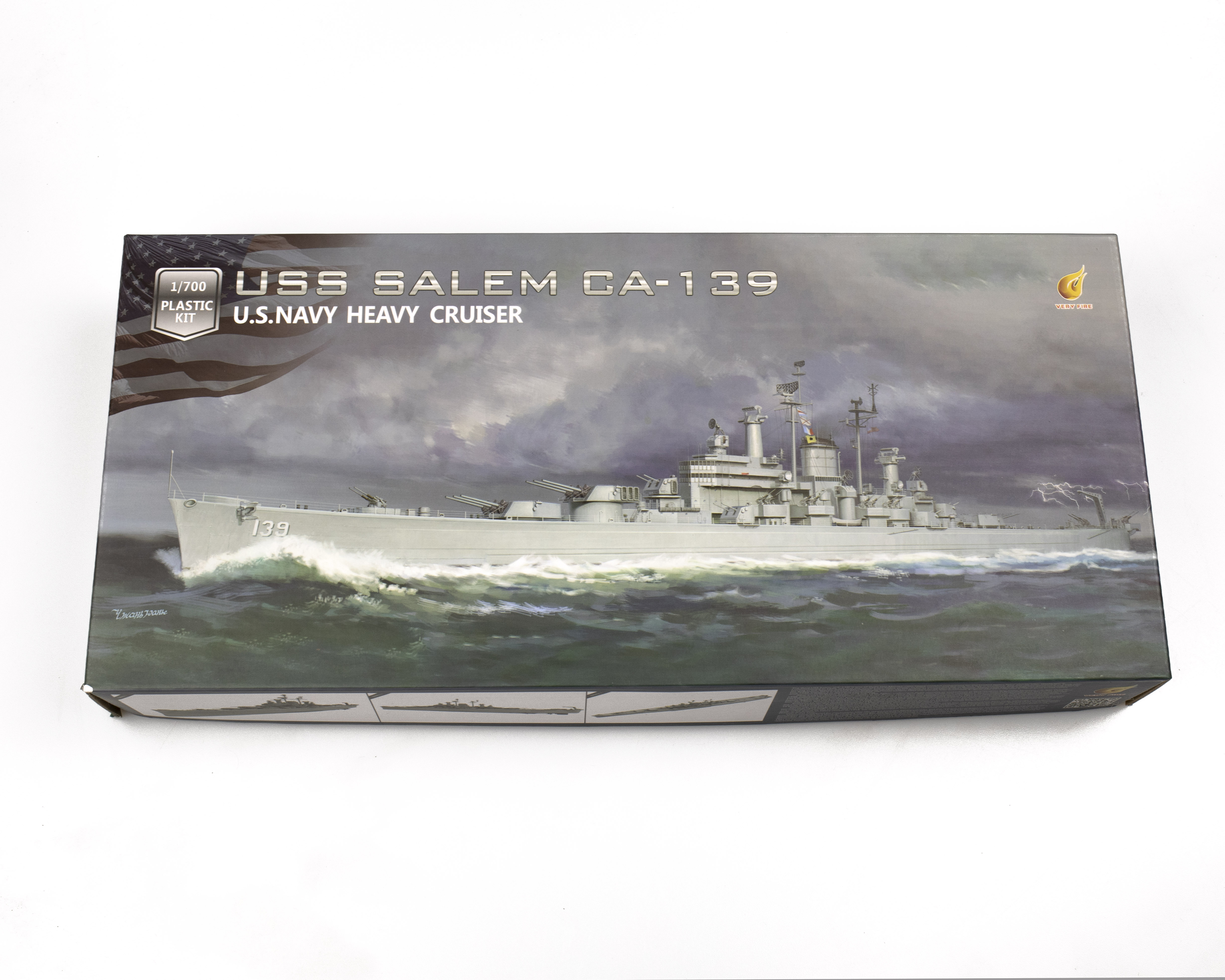 Very Fire 1/700 USS Salem CA-139