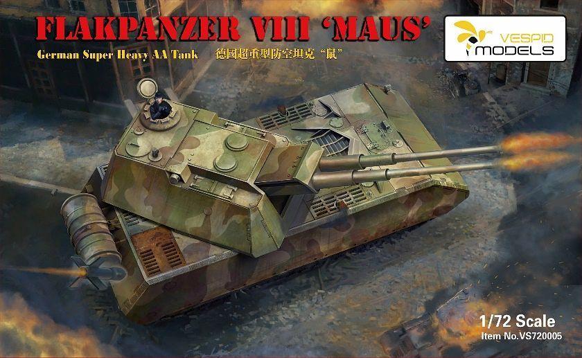 Vespid Models 1/72 Flakpanzer VIII Maus