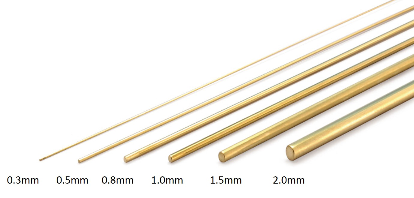 Wave Option System C Line (0.5mm) - Brass Wire 0.5mm