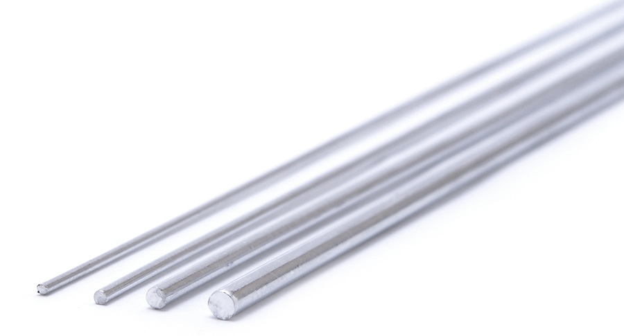 Wave AL LINE (0.8mm) - Aluminum Wire 0.8mm (5 Wires per Pack) x3 Pack