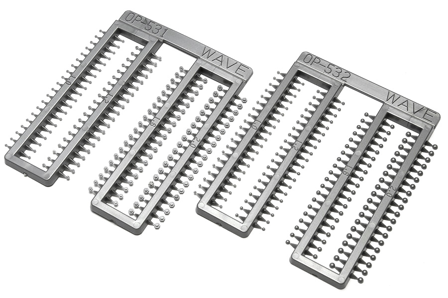 Wave NEW R RIVETS - Enhancement Rivets In 4 Diameters, 1.0, 1.2, 1.6 and 2.0mm x3 Pack