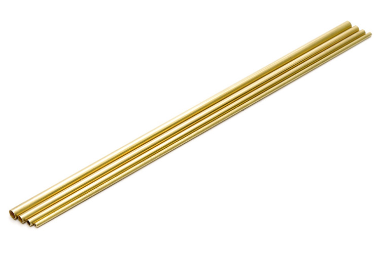Wave NEW C PIPE C SET (1.5 / 2.0 / 2.5 / 3.0mm) - Fine to Thick Brass Pipes, Connectable Telescopic Set, 1.5mm, 2.0mm, 2.5mm & 3.0mm x3 Pack