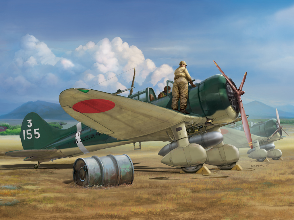 """Wingsy 1/48 IJN Type 96 carrier-based fighter II A5M2b (early version) """"Claude"""""""