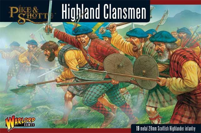 Pike & Shotte Highland Clansmen boxed set