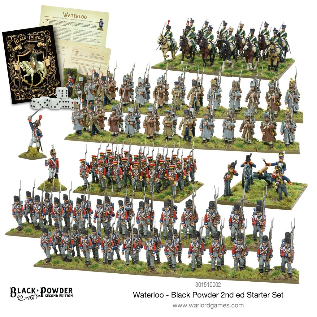 Black Powder Waterloo 2nd edition Starter Set
