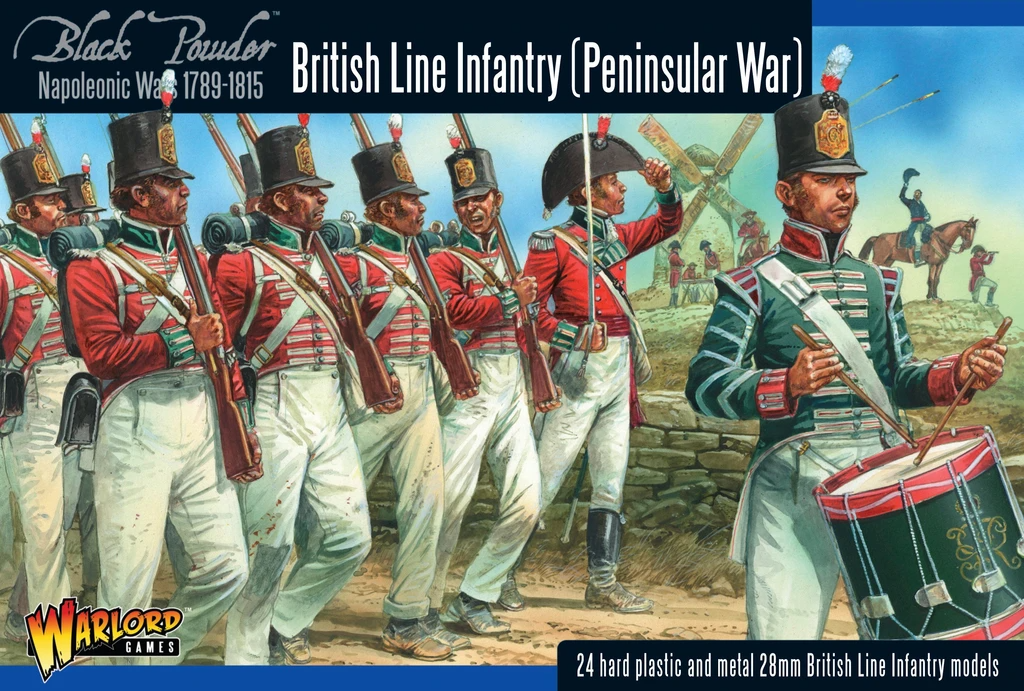 Black Powder British Line Infantry (Peninsular)