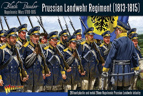 Black Powder Prussian Landwehr Regiment 1813-1815