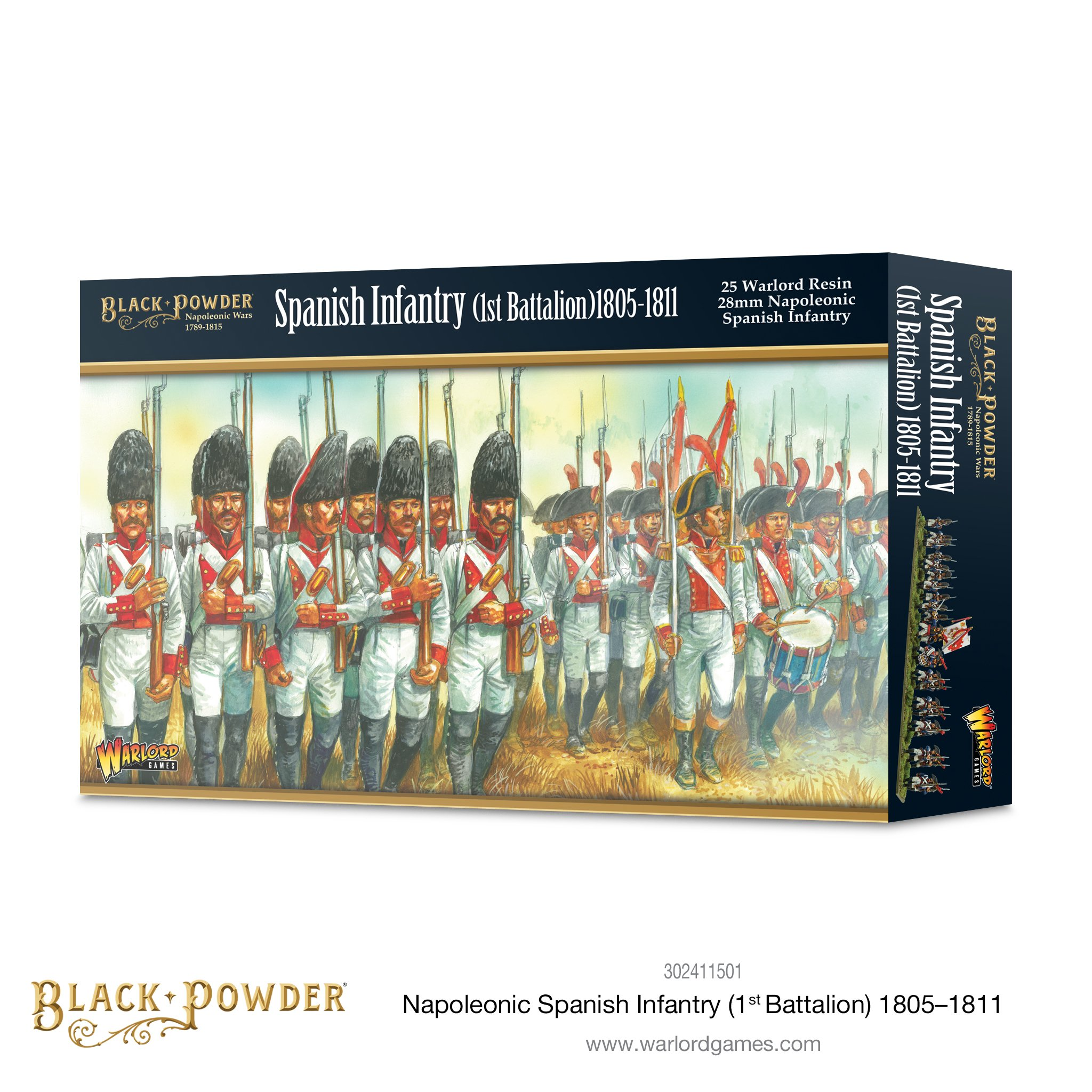 Black Powder Napoleonic Spanish Infantry (1st Battalion) 1805-1811