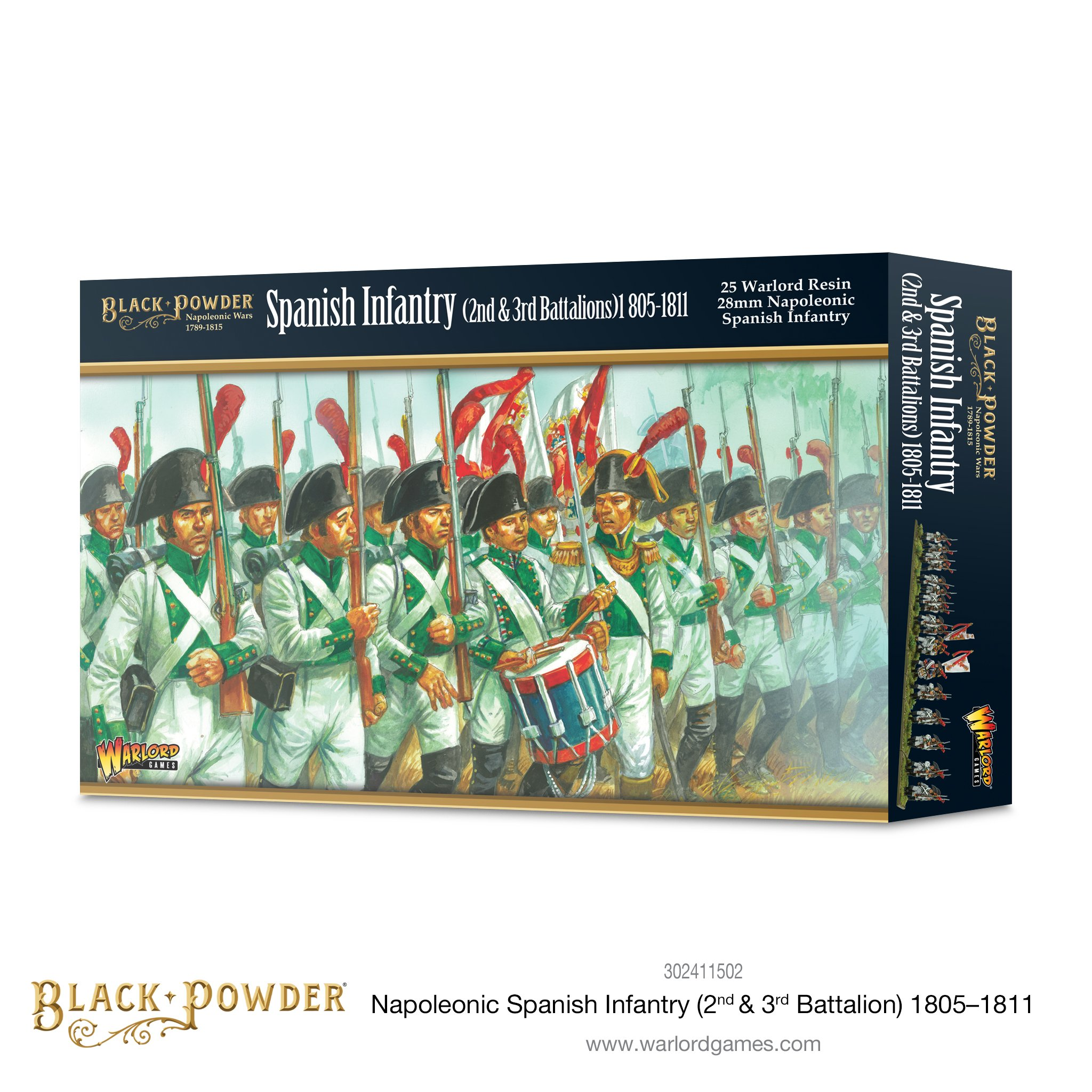 Black Powder Napoleonic Spanish Infantry (2nd & 3rd Battalions)