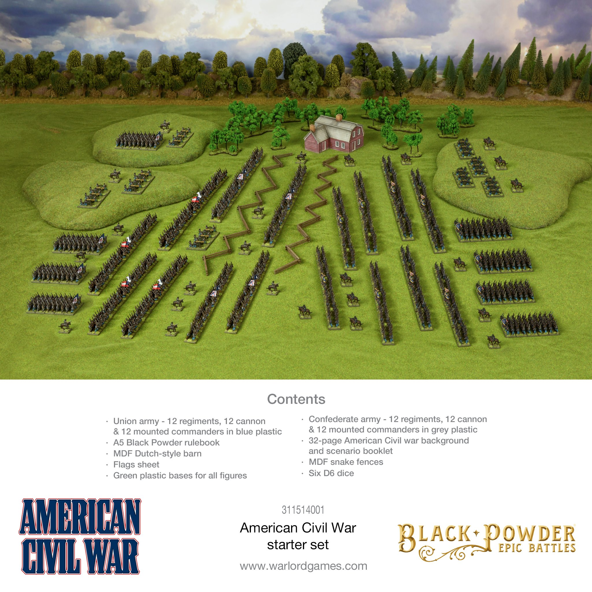 Black Powder Epic Battles : American Civil War Starter Set