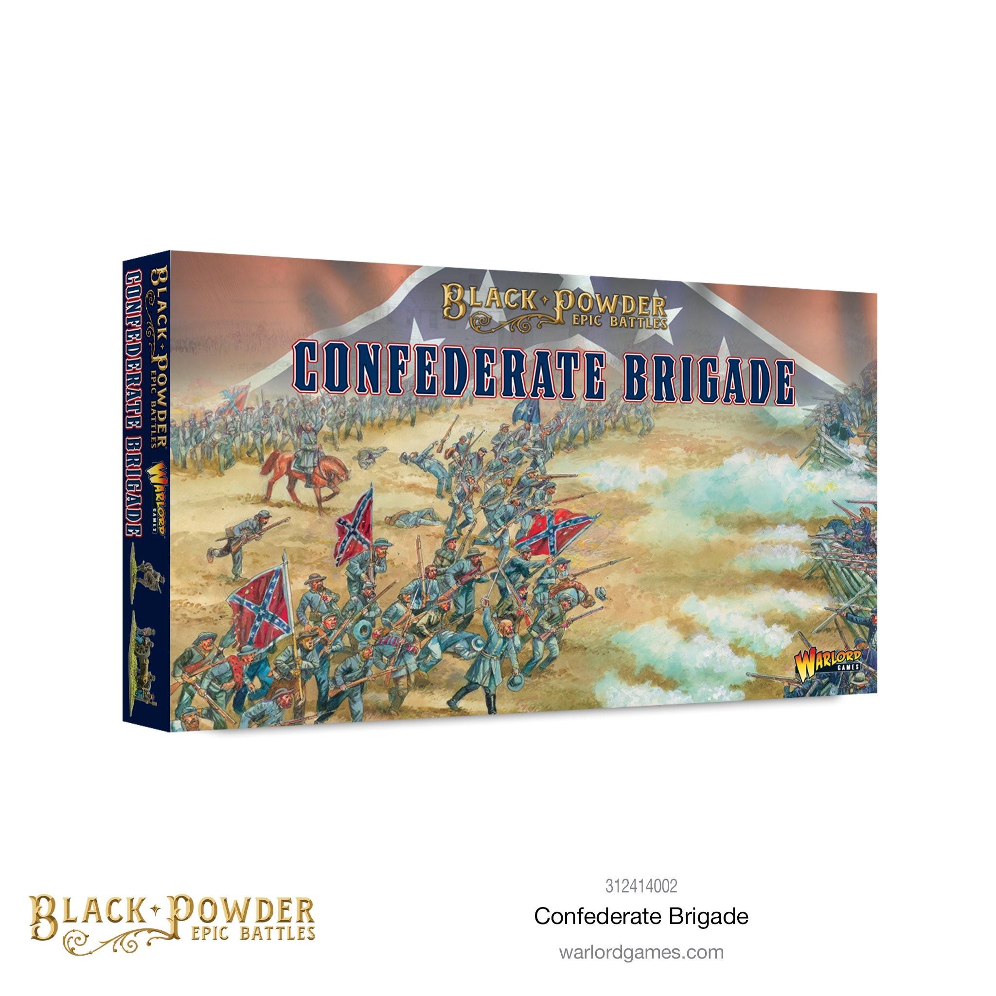Black Powder Epic Battles : American Civil War Confederate Brigade