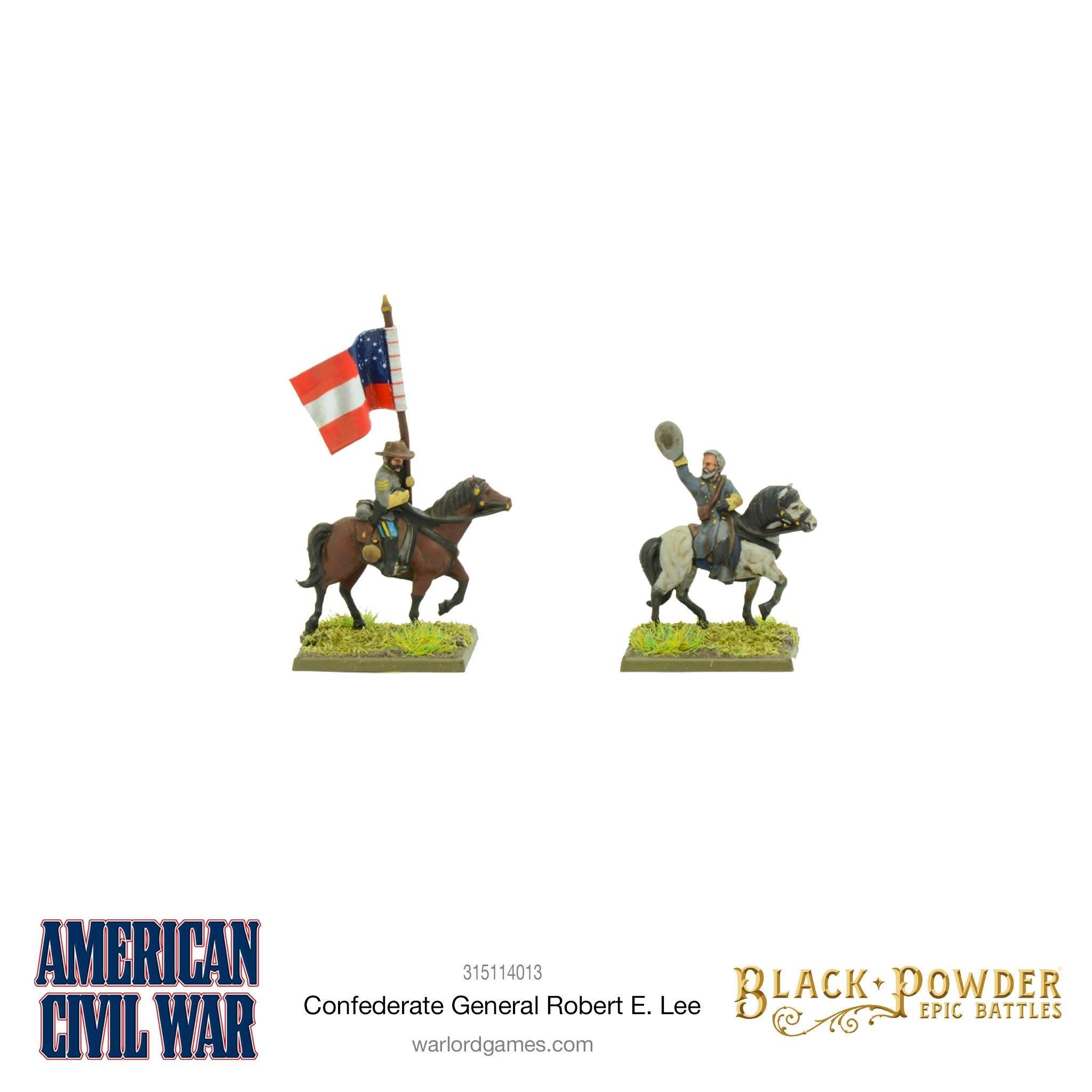 Black Powder Epic Battles : Confederate General Robert E. Lee Exclusive Miniature
