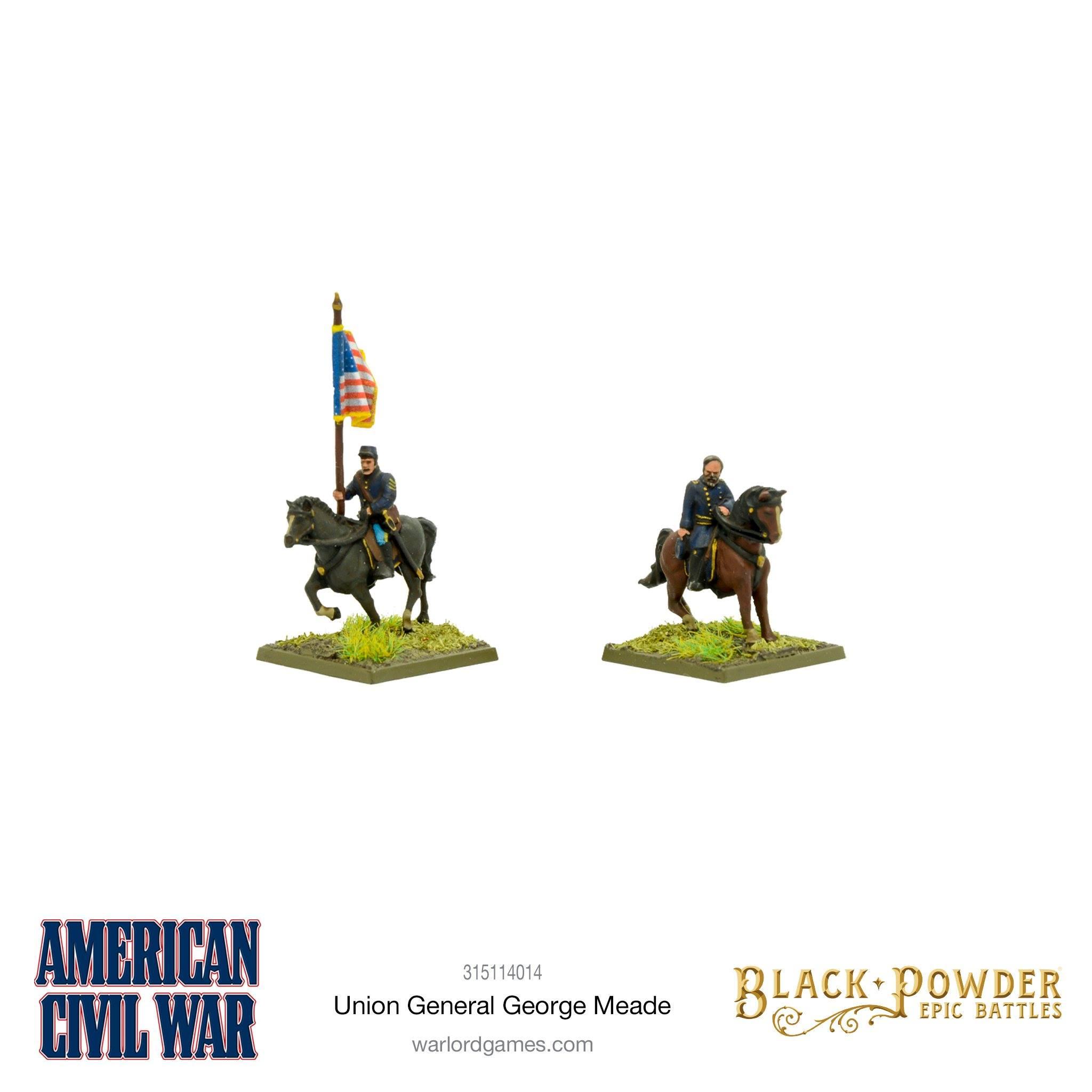 Black Powder Epic Battles : Union General George Meade Exclusive Miniature