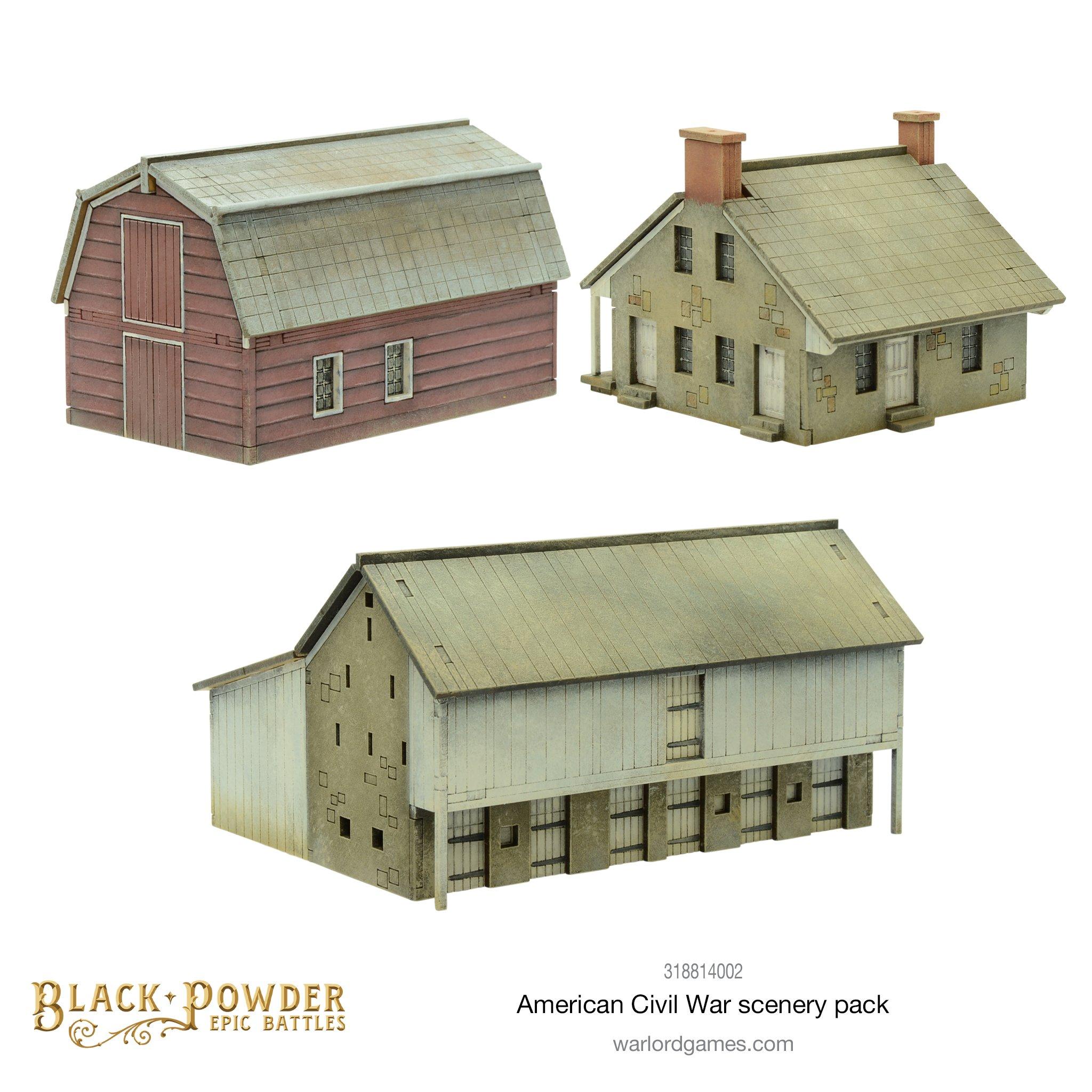 Black Powder Epic Battles : American Civil War Scenery Pack