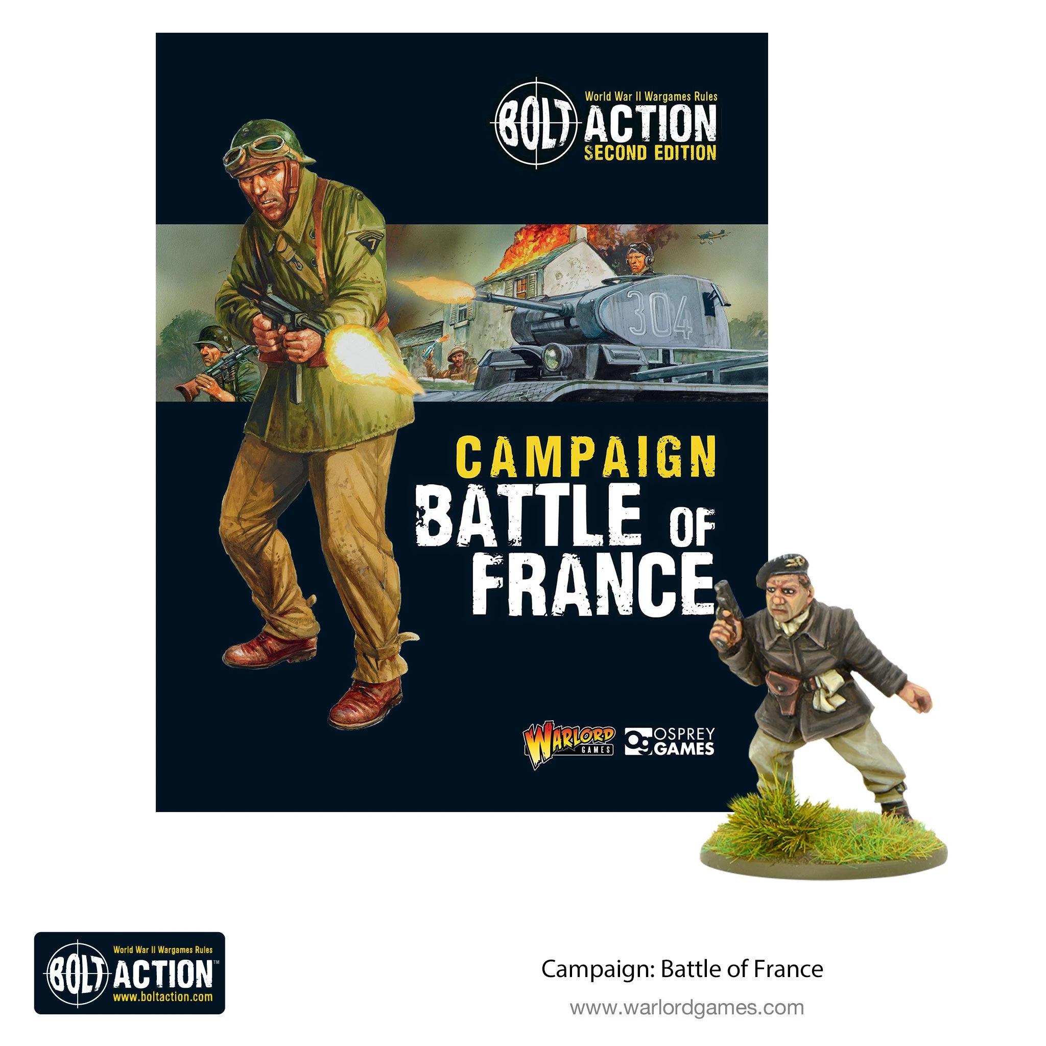 Bolt Action Battle of France campaign book