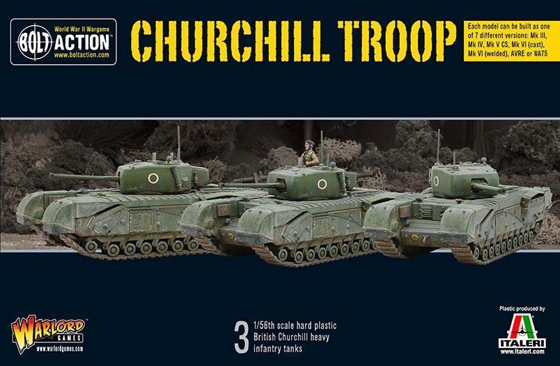Bolt Action Churchill Troop