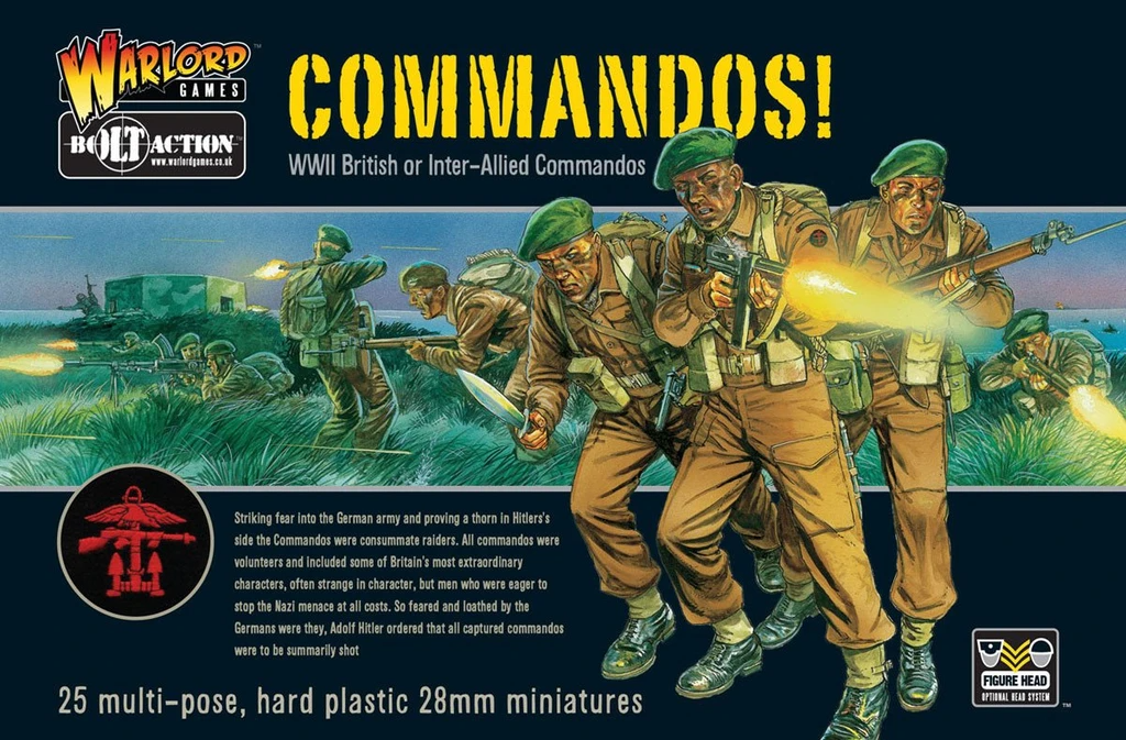 Bolt Action Commandos!