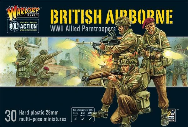 Bolt Action British Airborne