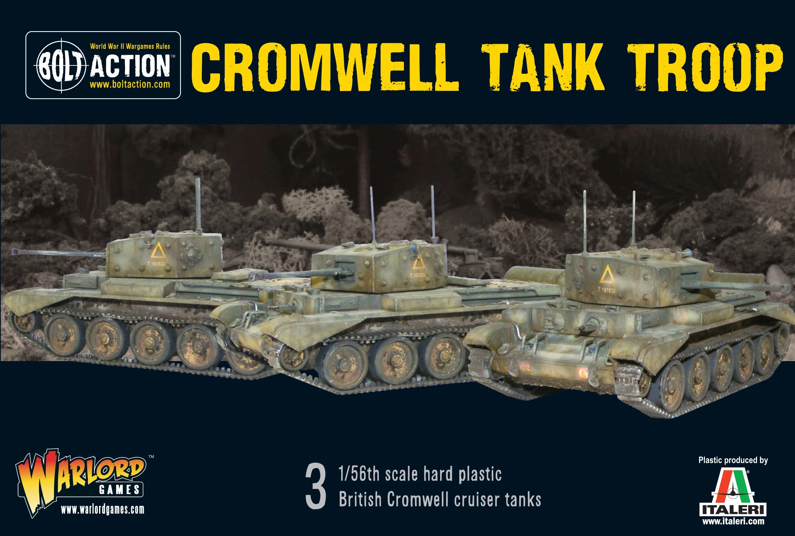 Bolt Action Cromwell Tank Troop