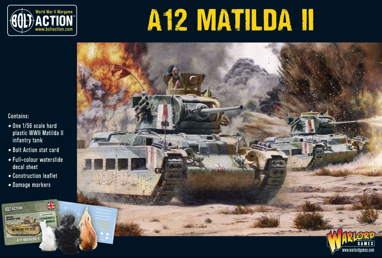 Bolt Action A12 Matilda II infantry tank