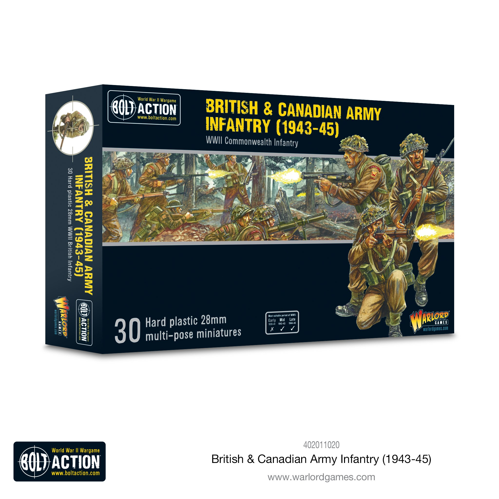 Bolt Action British & Canadian Army Infantry (1943-45)