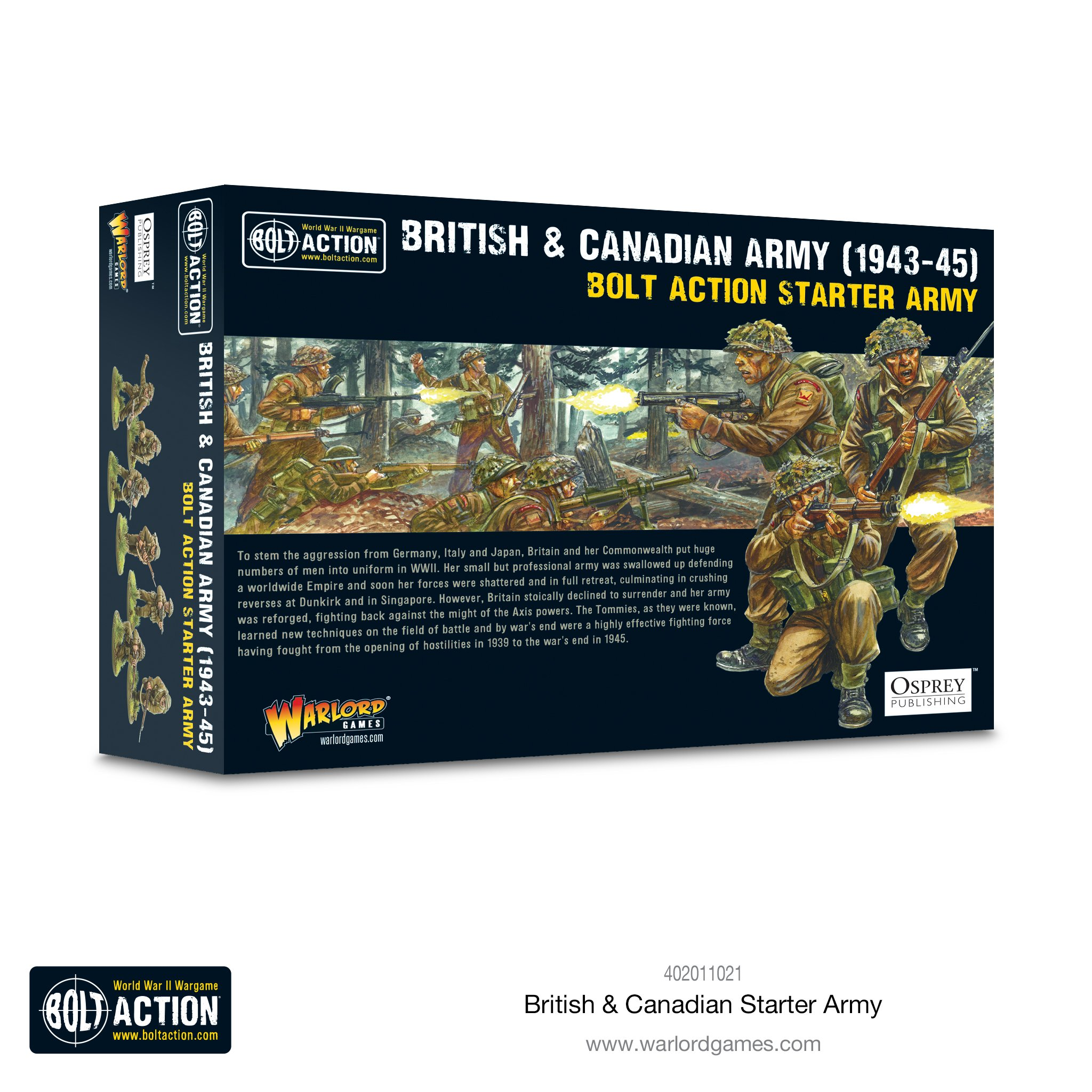 Bolt Action British & Canadian Army (1943-45) Starter Army Kit