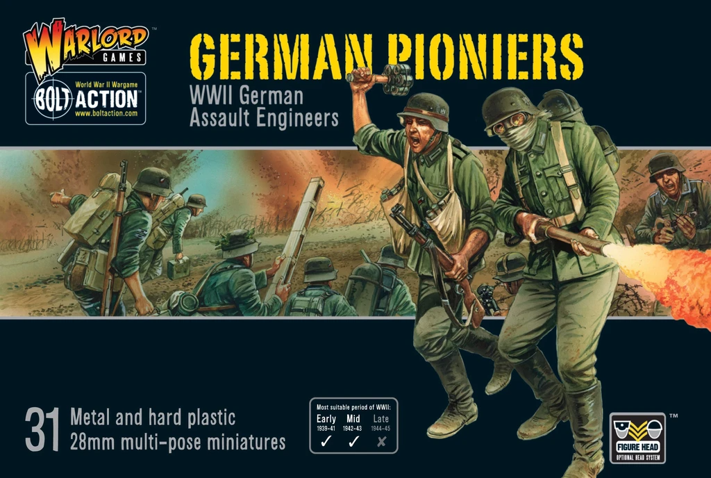 Bolt Action German Pioneers