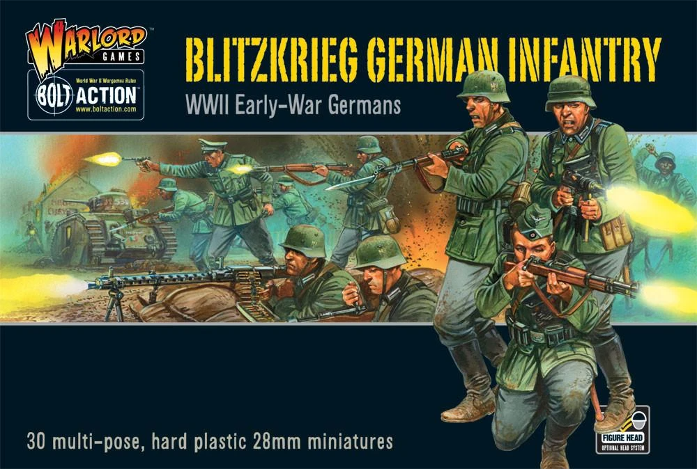 Bolt Action Blitzkrieg! German Infantry