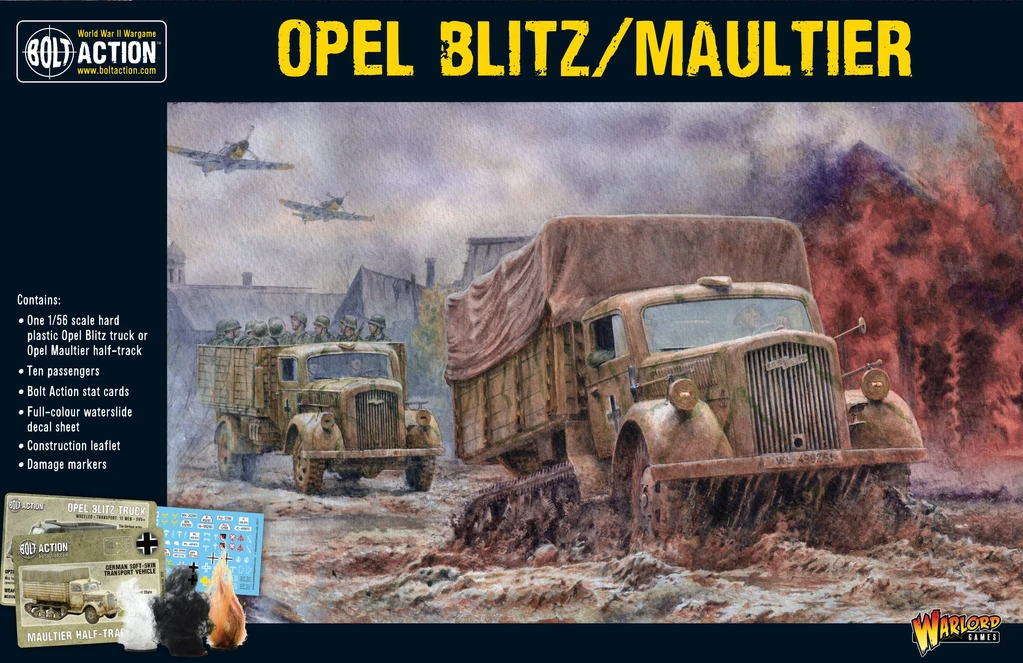 Bolt Action Opel Blitz/Maultier