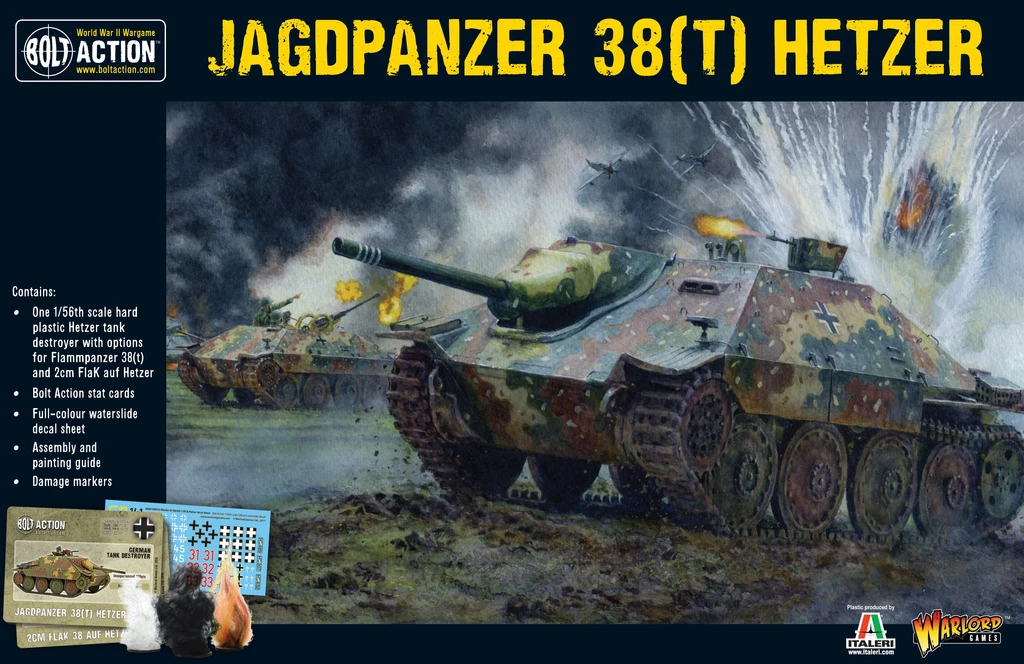 Bolt Action Hetzer