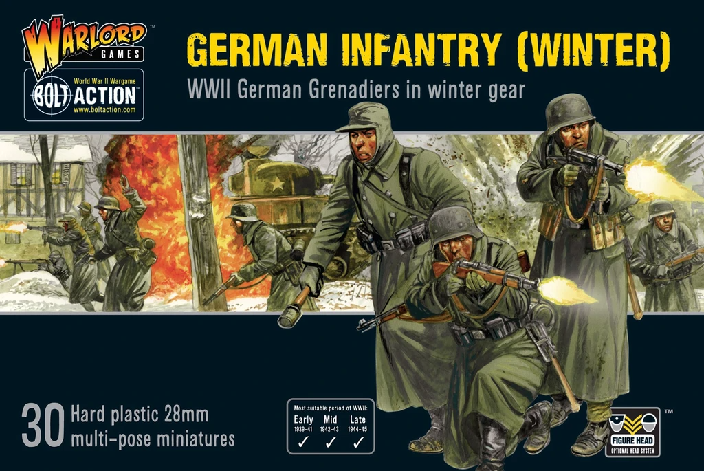 Bolt Action Germans Infantry (Winter)
