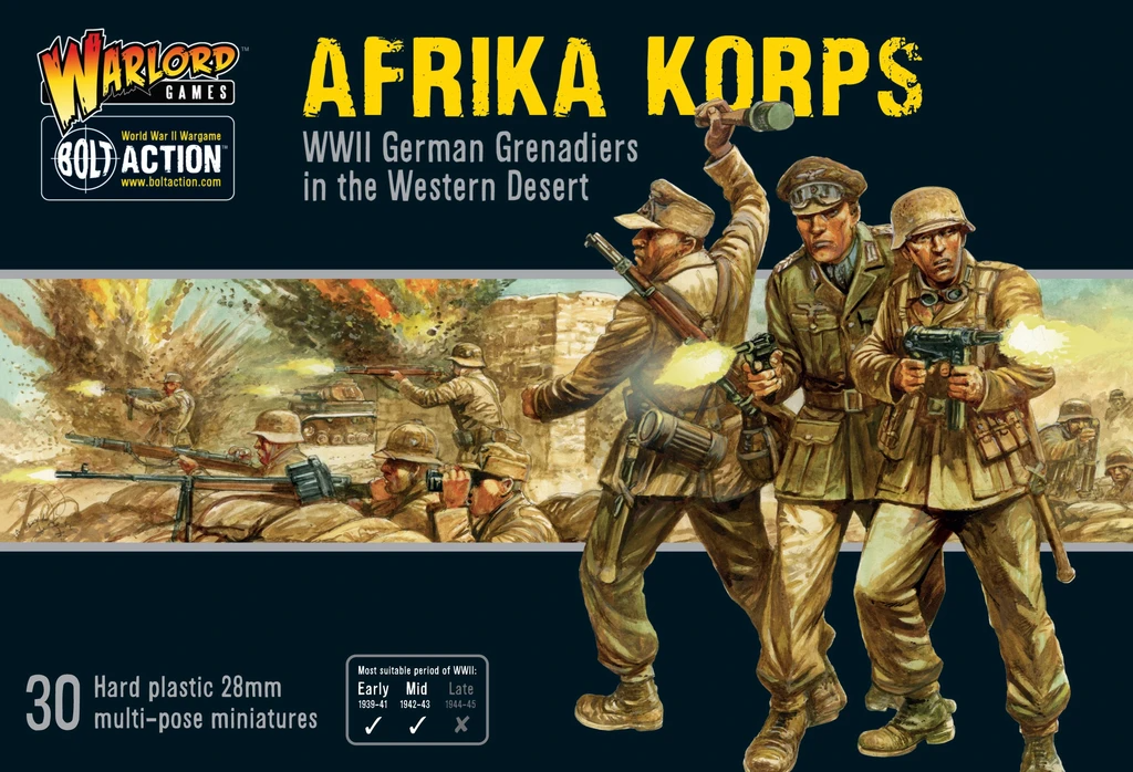 Bolt Action Afrika Korps Infantry