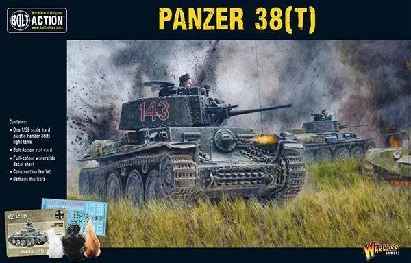 Bolt Action Panzer 38(t)