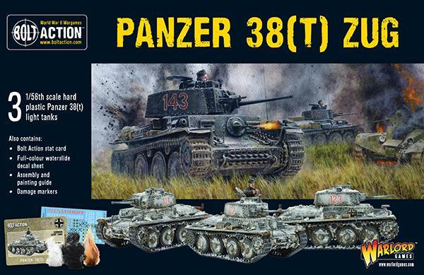 Bolt Action Panzer 38(T) ZUG
