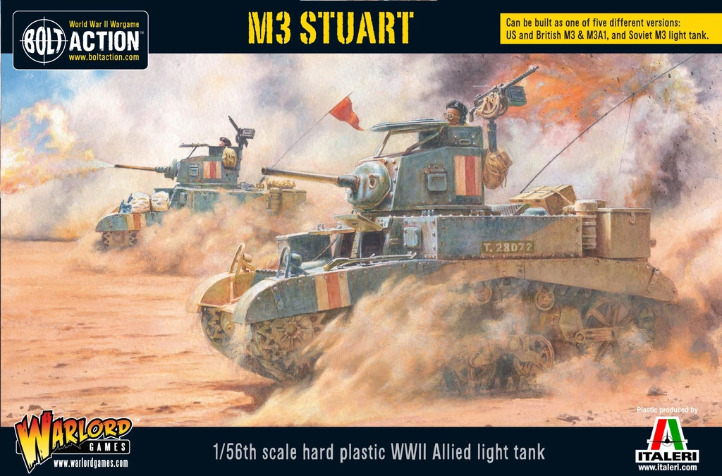 Bolt Action M3 Stuart