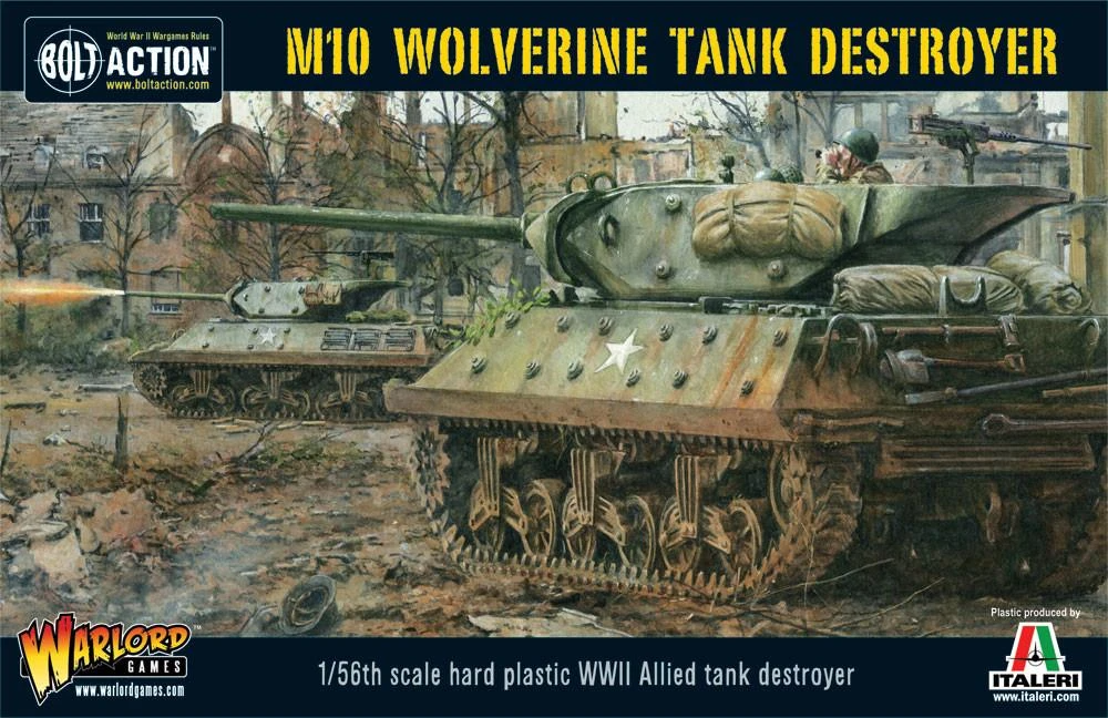 Bolt Action M10 Tank Destroyer/Wolverine