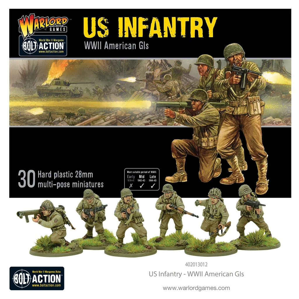 Bolt Action US Infantry