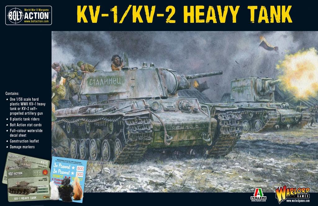 Bolt Action Soviet KV1/2