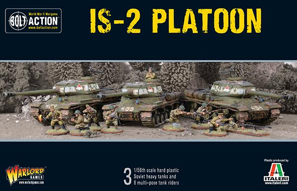 Bolt Action IS2 Platoon