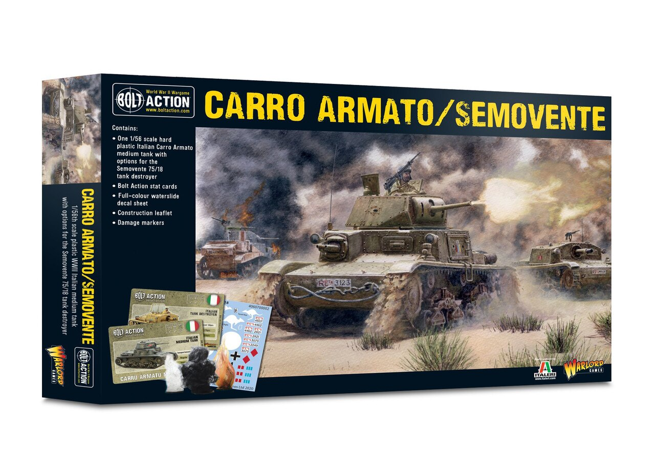 Bolt Action Carro Armato & Semovente