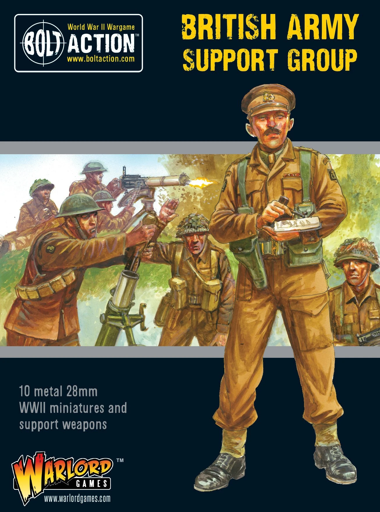 Bolt Action British Army support group