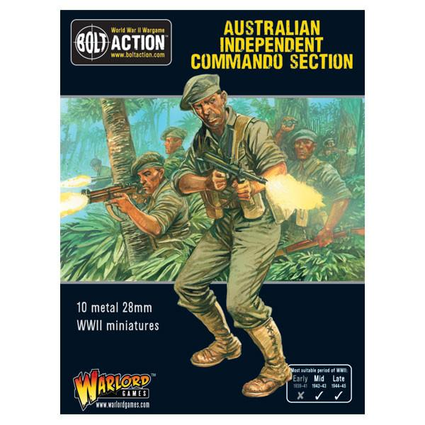 Bolt Action Australian Independent Commando squad