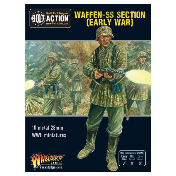 Bolt Action Early War Waffen-SS squad
