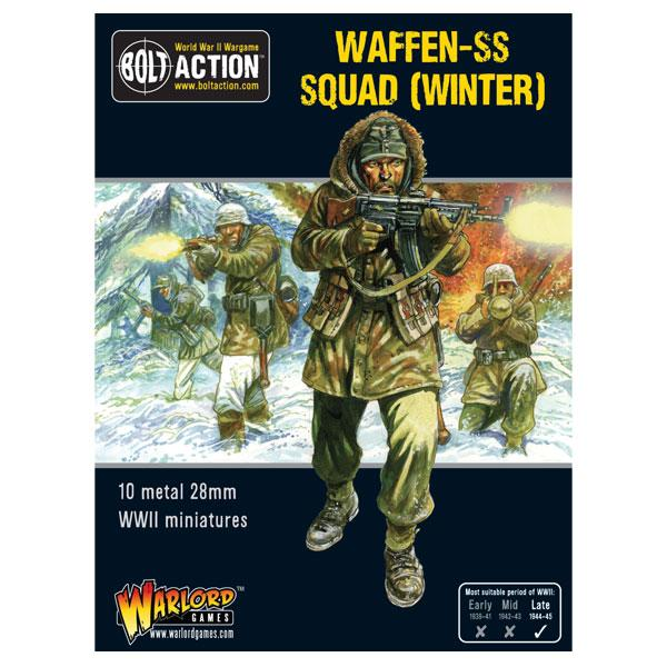 Bolt Action Waffen-SS Squad (Winter)