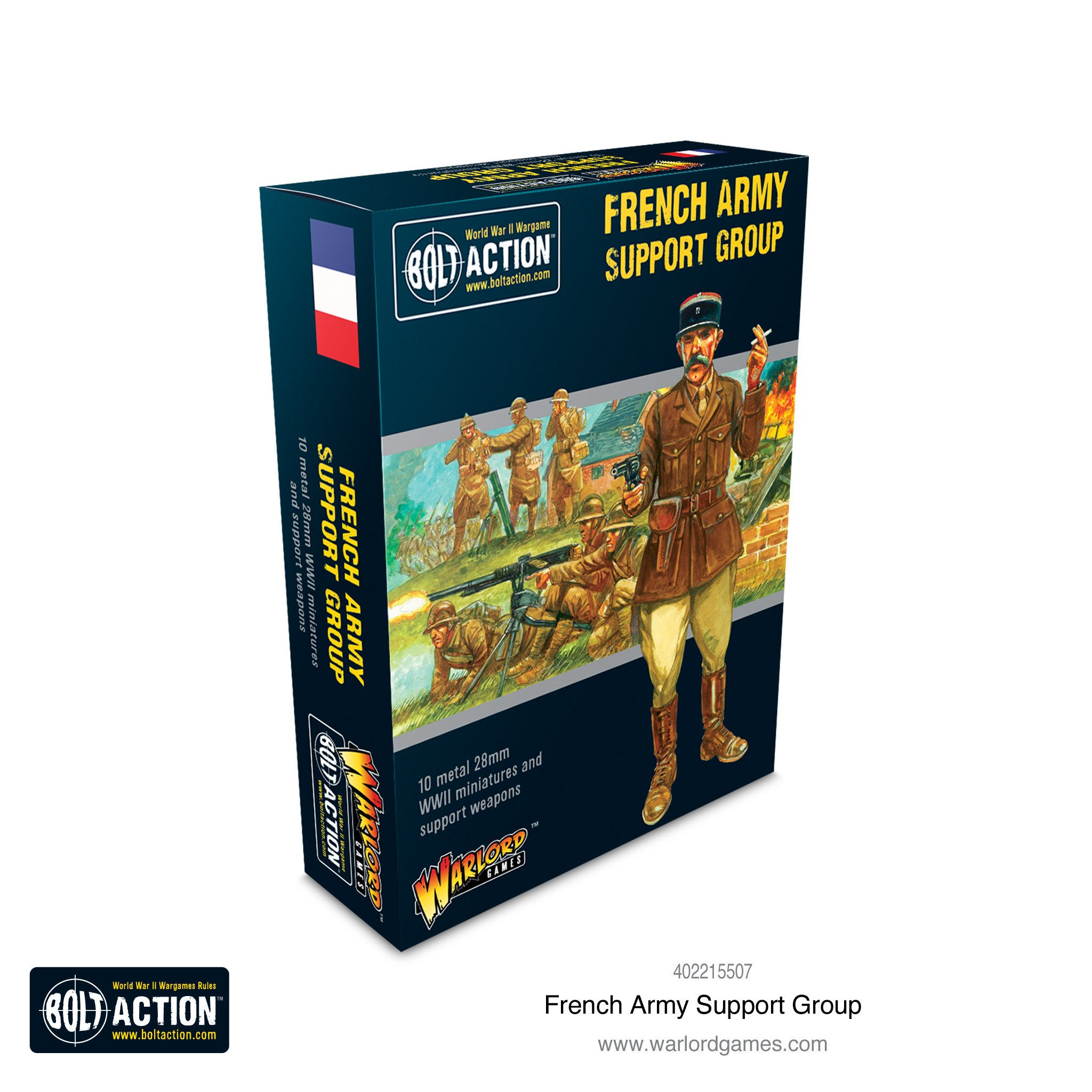 Bolt Action French Army Support Group