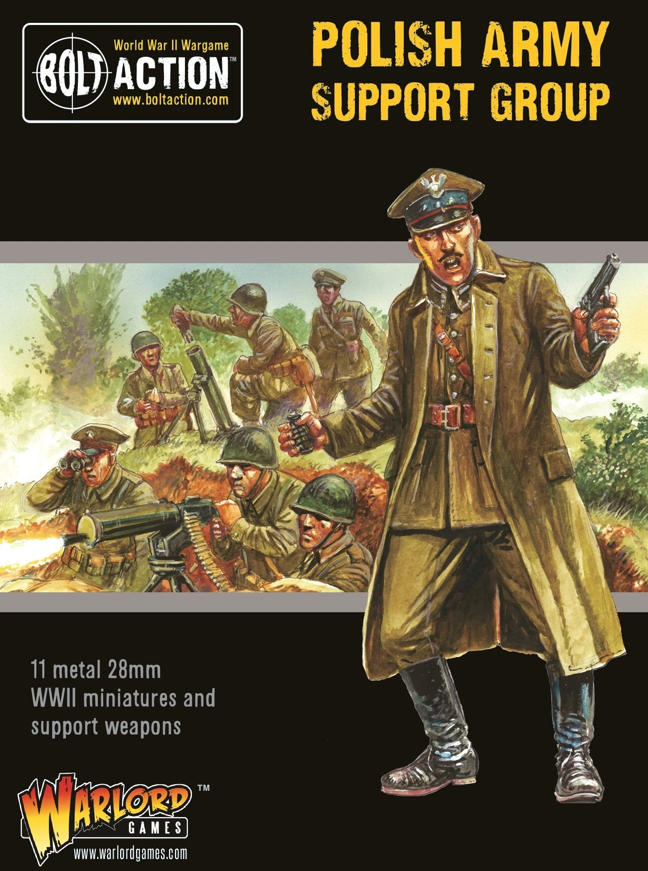 Bolt Action Polish Army support group