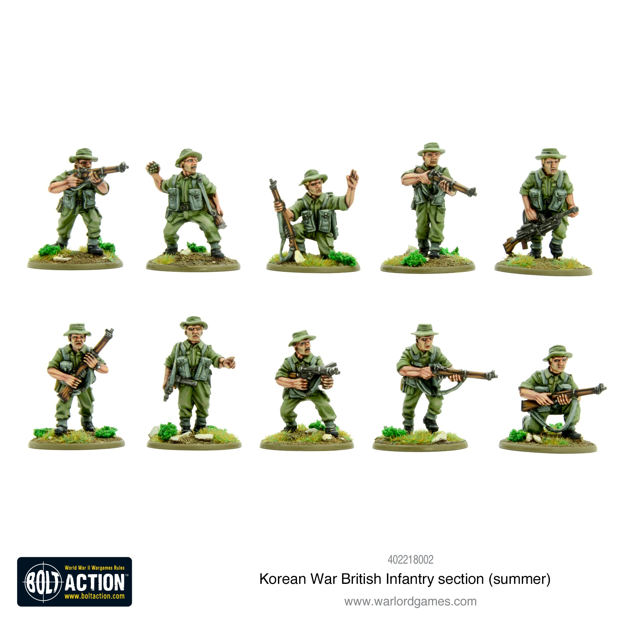 Bolt Action Korean War: British Army Infantry Section (Summer ...