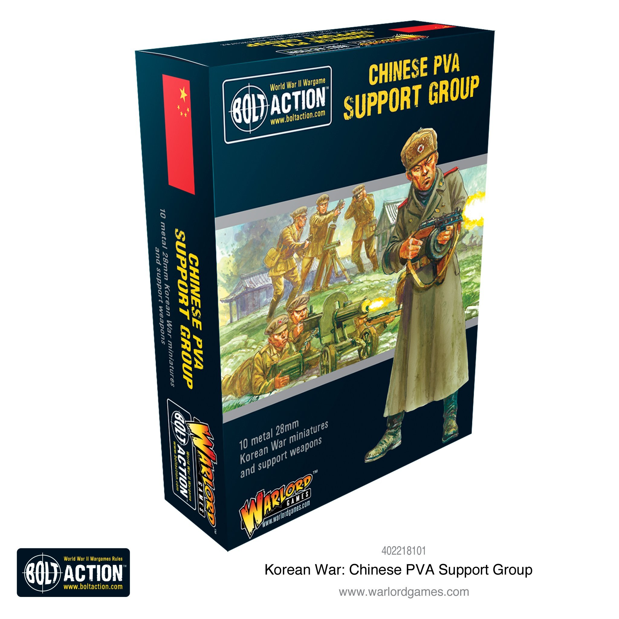 Bolt Action Korean War: Chinese PVA support group