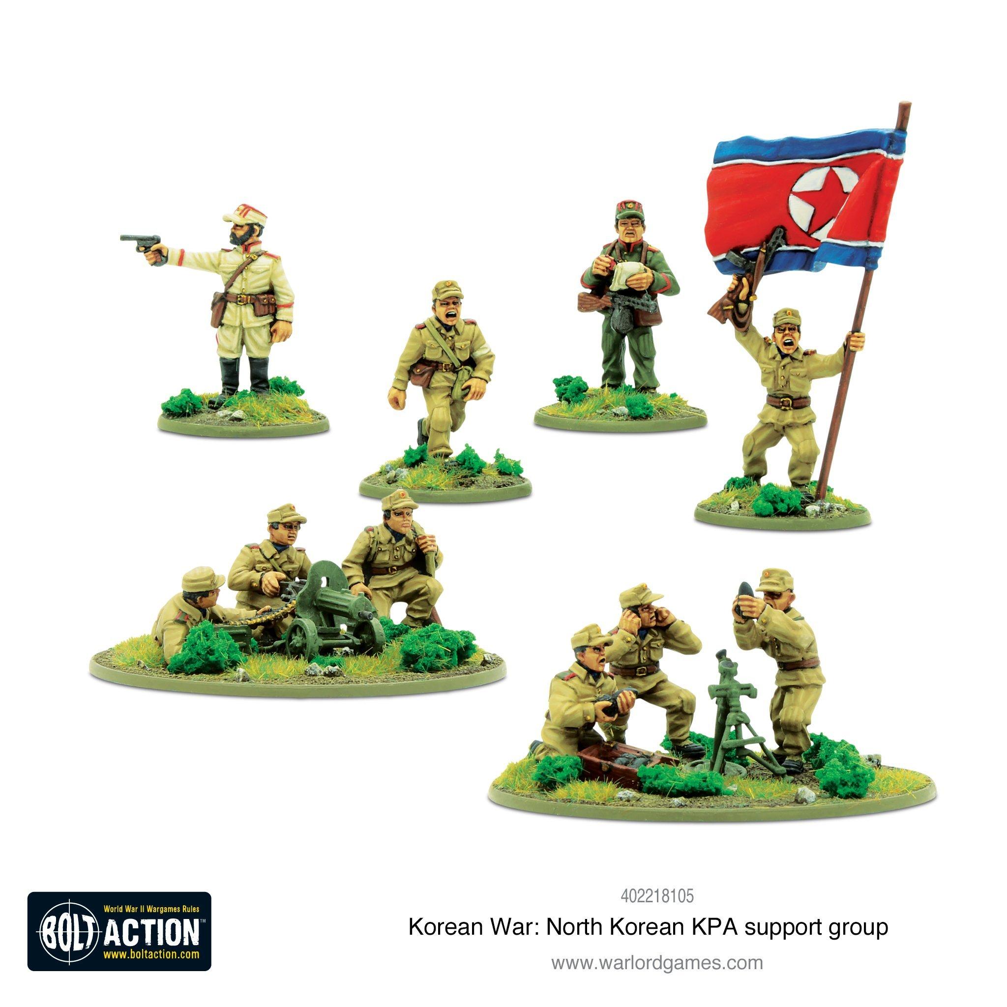 Bolt Action Korean War: North Korean KPA support group