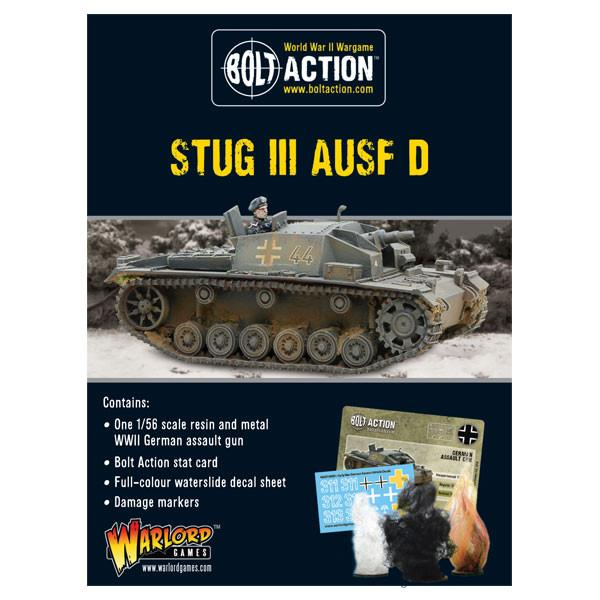 Bolt Action Early Stug III Ausf D (resin boxed)